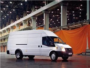 Предпросмотр ford tranzit 2006 фургон длинная база высокая крыша