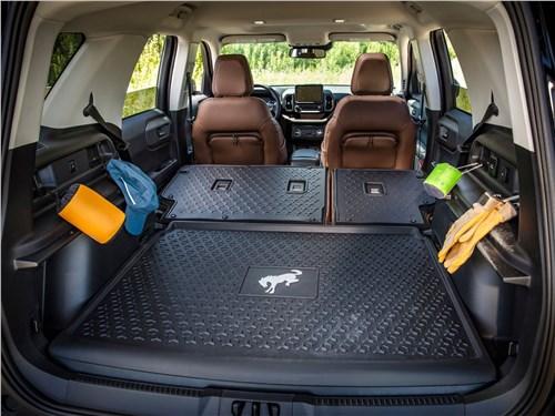 Предпросмотр ford bronco sport (2021) багажное отделение