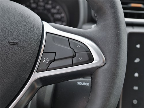 Renault Duster (2021) руль