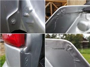 Chery Tiggo 2012 сварные швы