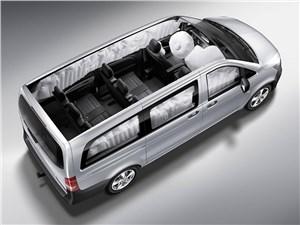 Предпросмотр mercedes-benz vito tourer 2015 подушки безопасности