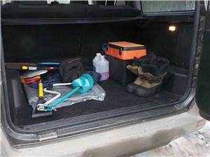 UAZ Patriot 2014 багажное отделение