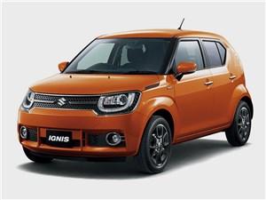 Промежуточное звено (Fiat Panda, Suzuki Ignis, Suzuki Liana, Subaru Impreza) Ignis - Suzuki Ignis 2016 Малые формы