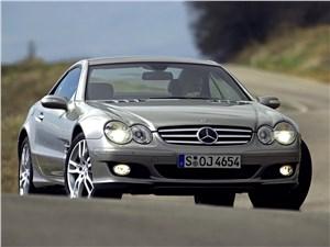 Предпросмотр mercedes-benz sl 500 2006 вид спереди