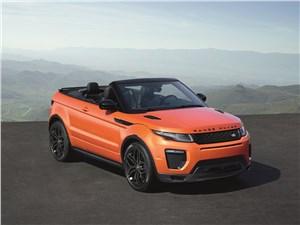 Предпросмотр land rover range rover evoque convertible 2016 с открытым забралом