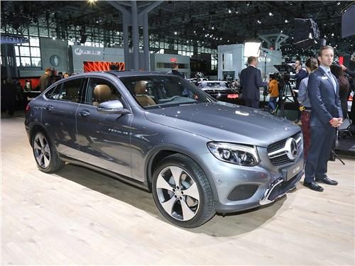 Автосалон в Нью-Йорке 2016 Mercedes-Benz GLC Coupe