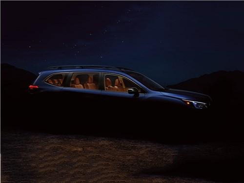 Subaru опубликовала первое фото нового кроссовера