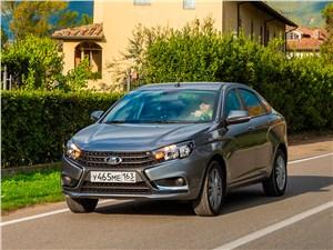Lada Vesta 2015 Вестница перемен