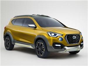 Предпросмотр datsun go-cross concept 2015 дорога в кроссоверы