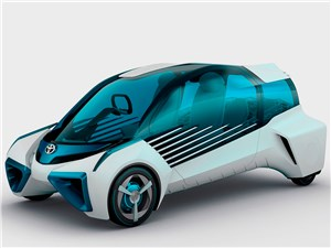 Предпросмотр toyota fcv plus concept 2015 напечатали