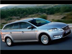 Ford Mondeo 2007 универсал фото справа спереди
