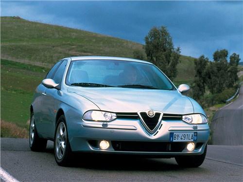 Итальянские скороходы (Alfa Romeo145-146, Alfa Romeo 147, Alfa Romeo 156, Alfa Romeo 166) 156