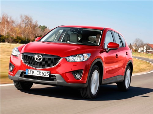 Новость про Mazda CX-5 - Mazda CX-5 2013