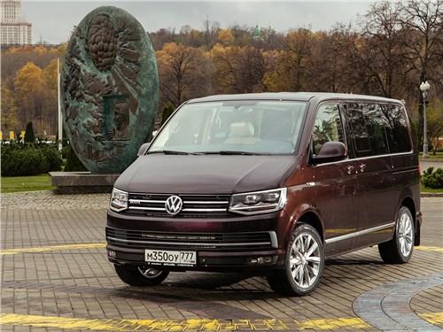 Маленькие тонкости большого теста Multivan - Volkswagen Multivan 2015 Категория люкс