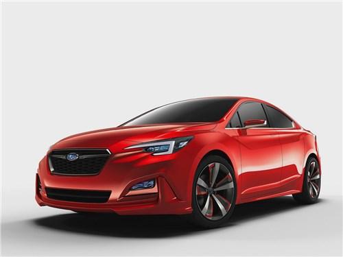 Новый Subaru Impreza - Subaru Impreza Sedan Concept 2015 Цельный образ