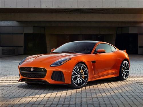 Предпросмотр jaguar f-type svr coupe 2016 вид спереди