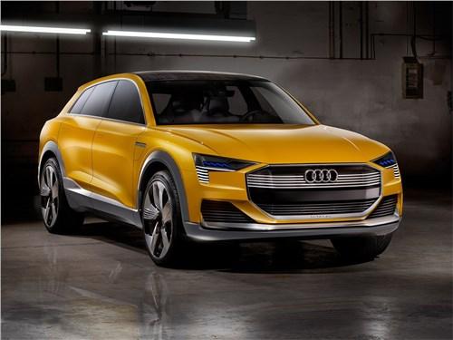Audi h-tron quattro Concept 2016 Глоток водорода