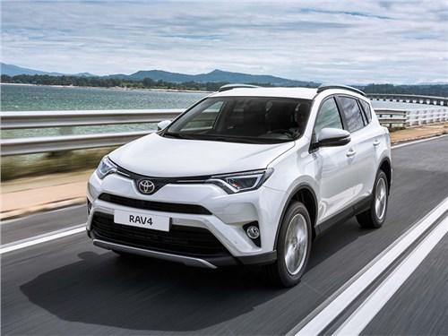 Петербургский завод Toyota готовится запустить производство Toyota RAV4