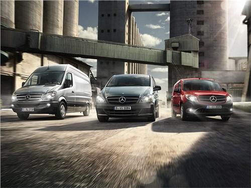 Новость про Mercedes-Benz - В Mercedes-Benz Vans рассказали о своей клиентской базе на российском рынке