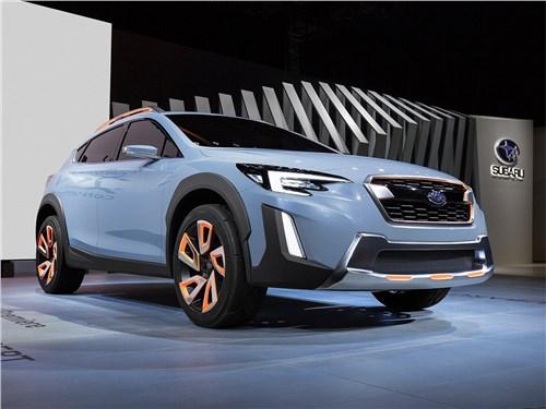 Новый Subaru XV - Subaru XV concept 2016 Знаки отличия