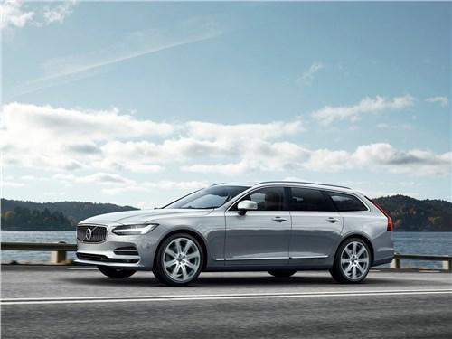 Volvo V90 Estate 2017 Изящные манеры