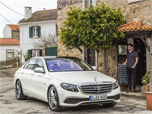 Mercedes-Benz E-Class - mercedes-benz e-klasse 2017 разрушитель стереотипов