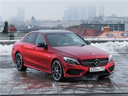 Mercedes-Benz C-Class AMG - mercedes-benz c450 amg 2016 провокатор