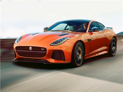 Новый Jaguar F-Type - Jaguar F-Type SVR Coupe 2016 Спецагент