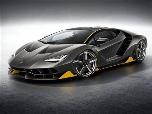 Новый Lamborghini Centenario - Lamborghini Centenario LP770-4 2017 В полет!