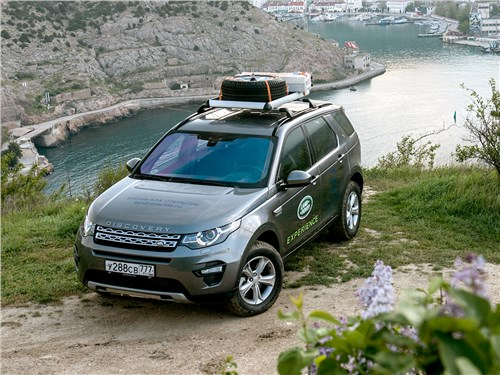 Land Rover Discovery Sport - автопутешествия: land rover discovery sport 2015 достать облако