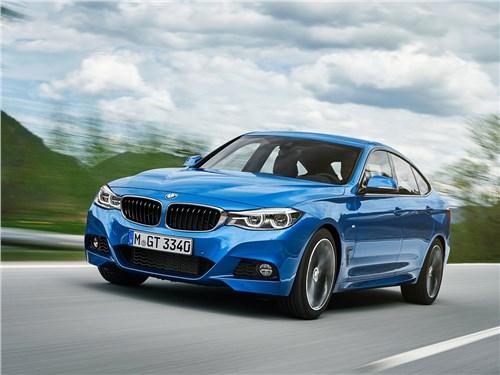 BMW 3 series GT 2017 Вкусная начинка