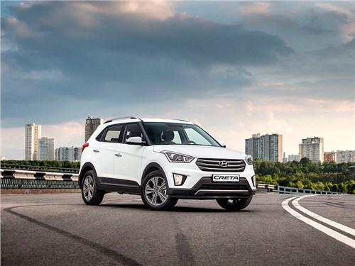 Дилеры начали принимать предварительные заказы на кроссовер Hyundai Creta