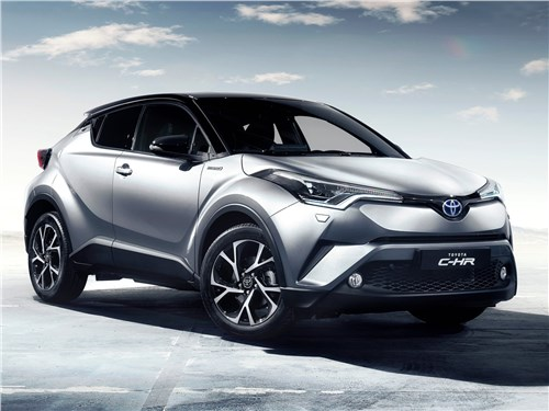 Новый Toyota C-HR - Toyota C-HR 2016 Авангард