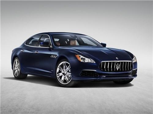 Maserati Quattroporte Gran Lasso 2017 Свежая кровь