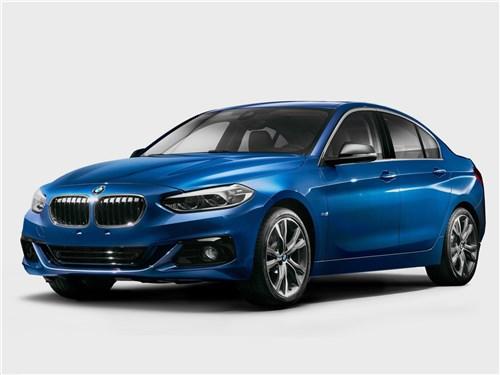 Новый BMW 1 series - BMW 1-Series Sedan 2017 Молодая поросль