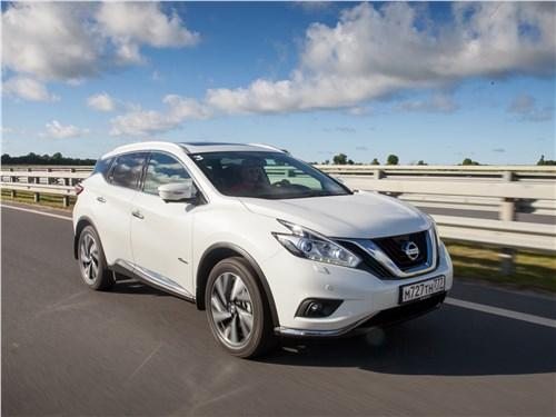 Nissan Murano - nissan murano 2015 не зря старались