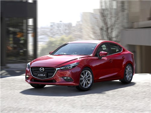 Новый Mazda 3 - Mazda 3 sedan 2017 Интеллектуалка
