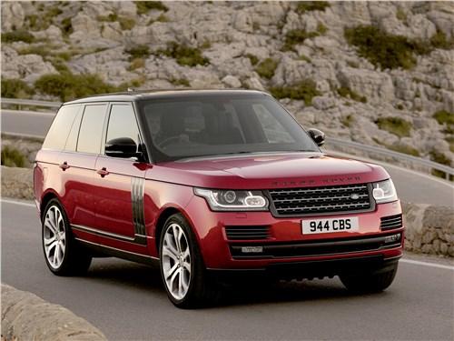 Новый Land Rover Range Rover - Land Rover Range Rover SVAutobiography Dynamic 2017 Его роскошество