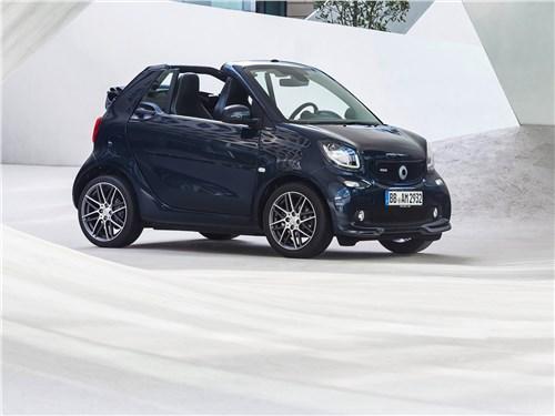 Новый Smart Fortwo Cabrio - Brabus Smart fortwo Cabrio 2017 Спортивная закалка