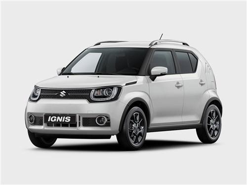 Промежуточное звено (Fiat Panda, Suzuki Ignis, Suzuki Liana, Subaru Impreza) Ignis - Suzuki Ignis 2016 Претендент