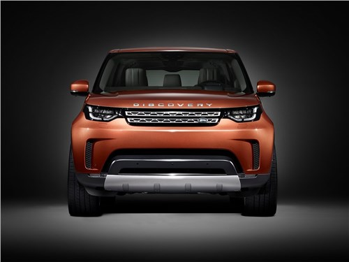 Новый Land Rover Discovery - Land Rover Discovery 2017 Британский подход