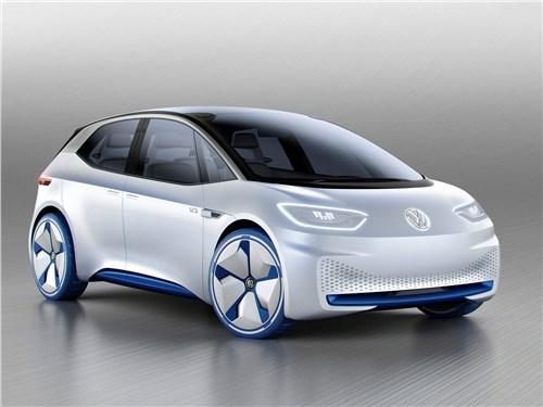 Предпросмотр volkswagen i.d. concept 2016 вид спереди сбоку