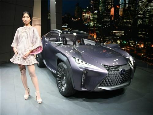 Lexus UX concept 2016 Кинетика и голография