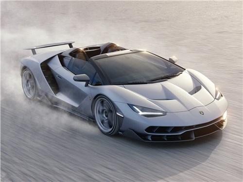 Новый Lamborghini Centenario - Lamborghini Centenario Roadster 2017 Навстречу ветру