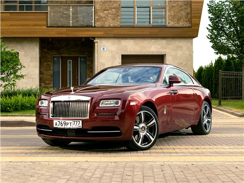 Rolls-Royce Wraith - rolls-royce wraith 2013 безмятежный ураган