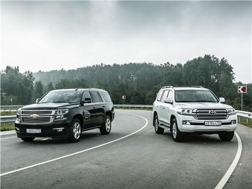 Chevrolet Tahoe - сравнительный тест toyota land cruiser и chevrolet tahoe. корпорация монстров