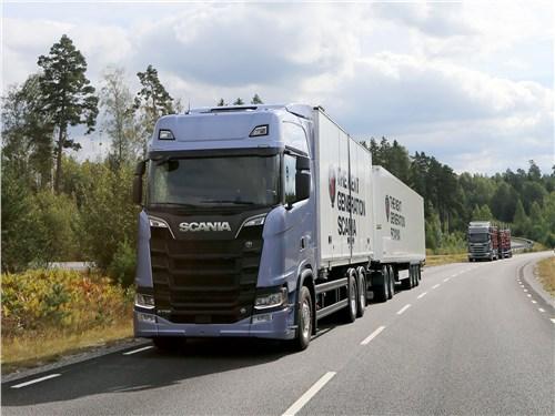 Фото машин Scania