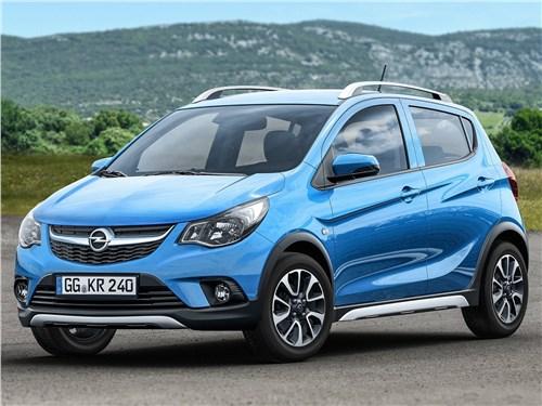 Opel Karl Rocks 2017 Как взрослый