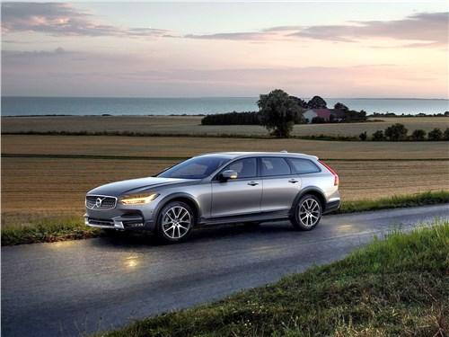 Новый Volvo V90 Cross Country - Volvo V90 Cross Country 2017 Высокие материи
