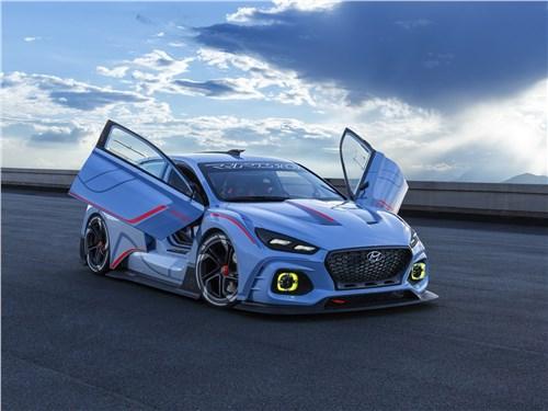 Hyundai RN30 Concept 2016 Спортподготовка